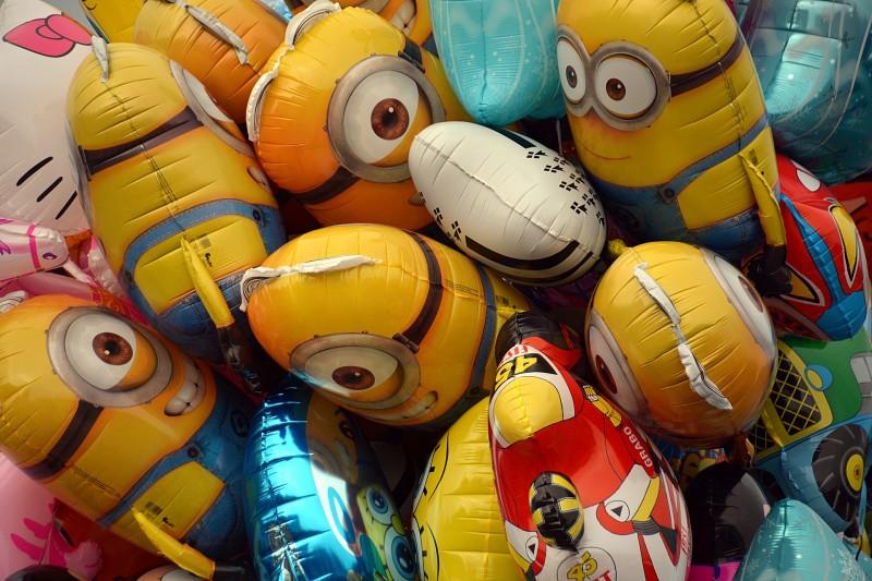 Send en ballon og overrask en du holder af