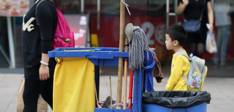 Rubbermaid rengøringsvogne gør rengøringen lettere og mere fleksibel