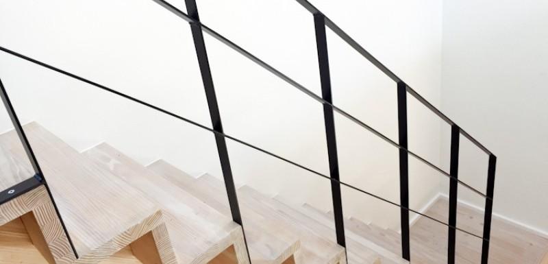 Stål trappegelændere i elegant og moderne design til gode priser