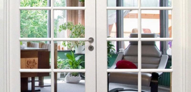 Få et større lysindfald i boligen med flotte glasdøre til favorable priser